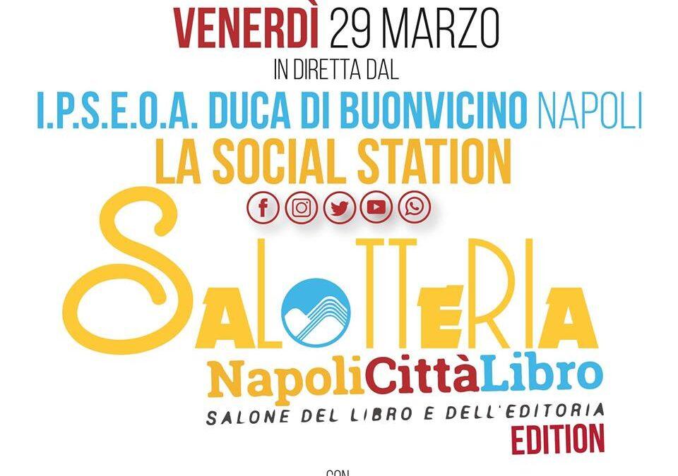 """Salotteria """"NapoliCittàLibro – Salone del Libro e dell'Editoria"""" Edition"""