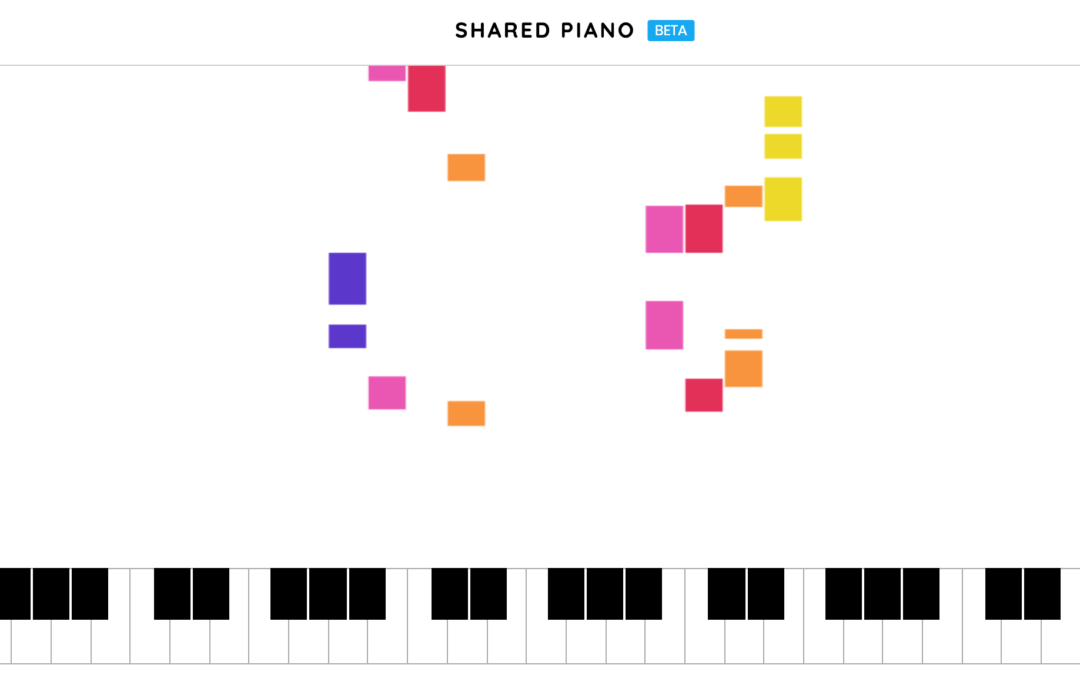 Shared Piano, la novità musicale di Google